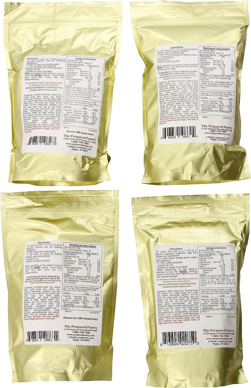 Paquete de mezcla preparada para hacer pan, 83.2 onzas ...
