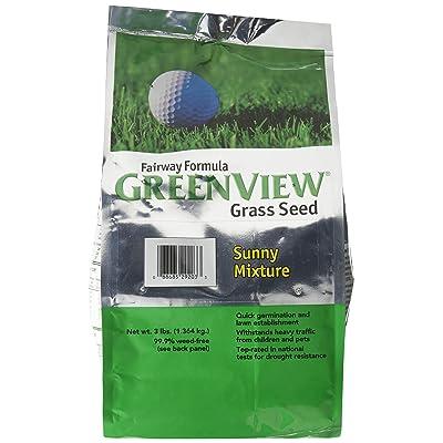 Lebanon Seaboard Corporation 28-29203 Green View No.3 Fairway Formula Sunny Mixture : Grass Plants : Garden & Outdoor