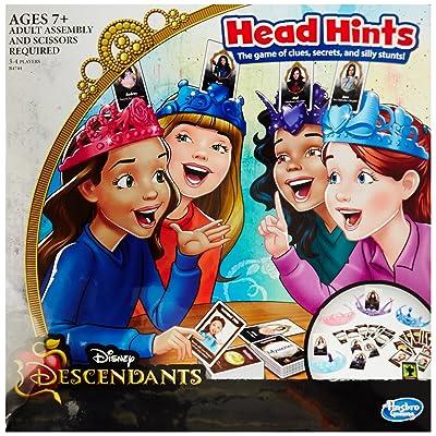Disney Descendants Head Hints Game: Toys & Games [5Bkhe0402315]