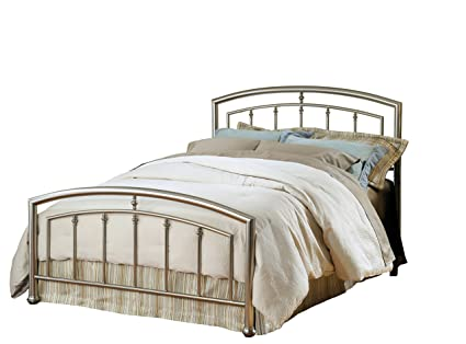 Amazon Com Hillsdale Furniture 1685bk Claudia Bed Set King Matte
