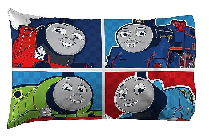 Thomas The Train Pillowcase Custom Amazon Thomas The Tank Engine Go Go Reversible Pillowcase Home