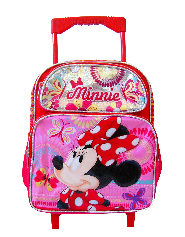 Minnie Mouse Disney 12 Toddler Mini Rolling Backpack SG/_B07B4TM83W/_US