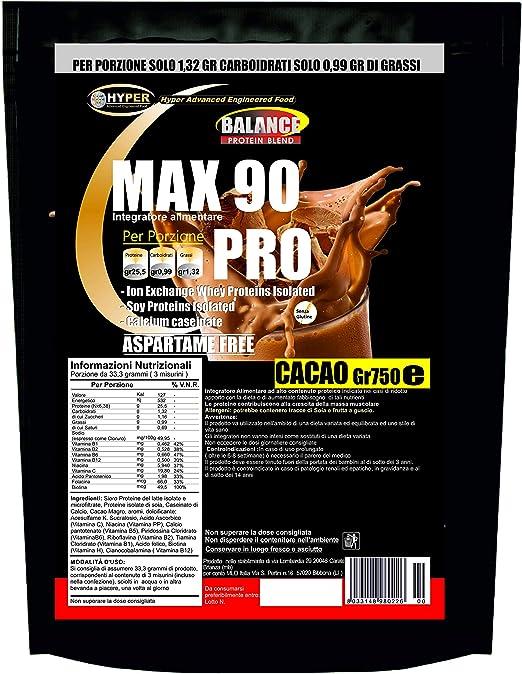 Batidos de proteína adelgazante   Sustitutivo de la comida   Cacao Gr 750 sabor   Dieta alta en proteínas x Pierda peso   perder peso   Sin aspartame ...