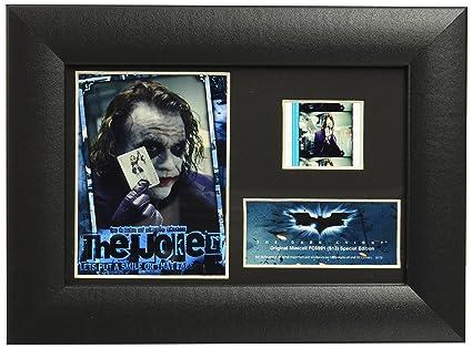 Amazon.com: Trend Setters Batman The Dark Knight Joker Framed Film ...