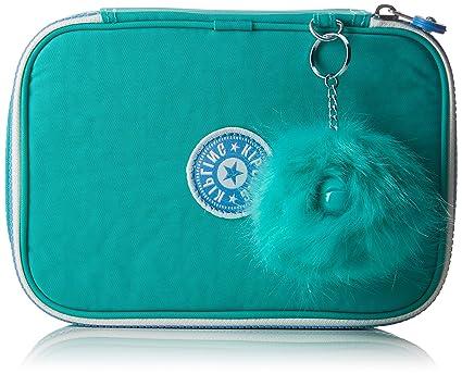 Kipling 100 PENS Estuches, 21 cm, 1.5 Liters, Azul (Deep Aqua C)