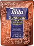 Tilda Steamed Basmati Sundried Tomato Rice 250 g (Pack of 6)