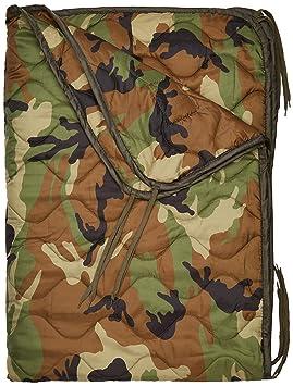 Mil-Tec - Manta Acolchada de Camping, diseño Militar, Estampado de Camuflaje: Amazon.es: Deportes y aire libre