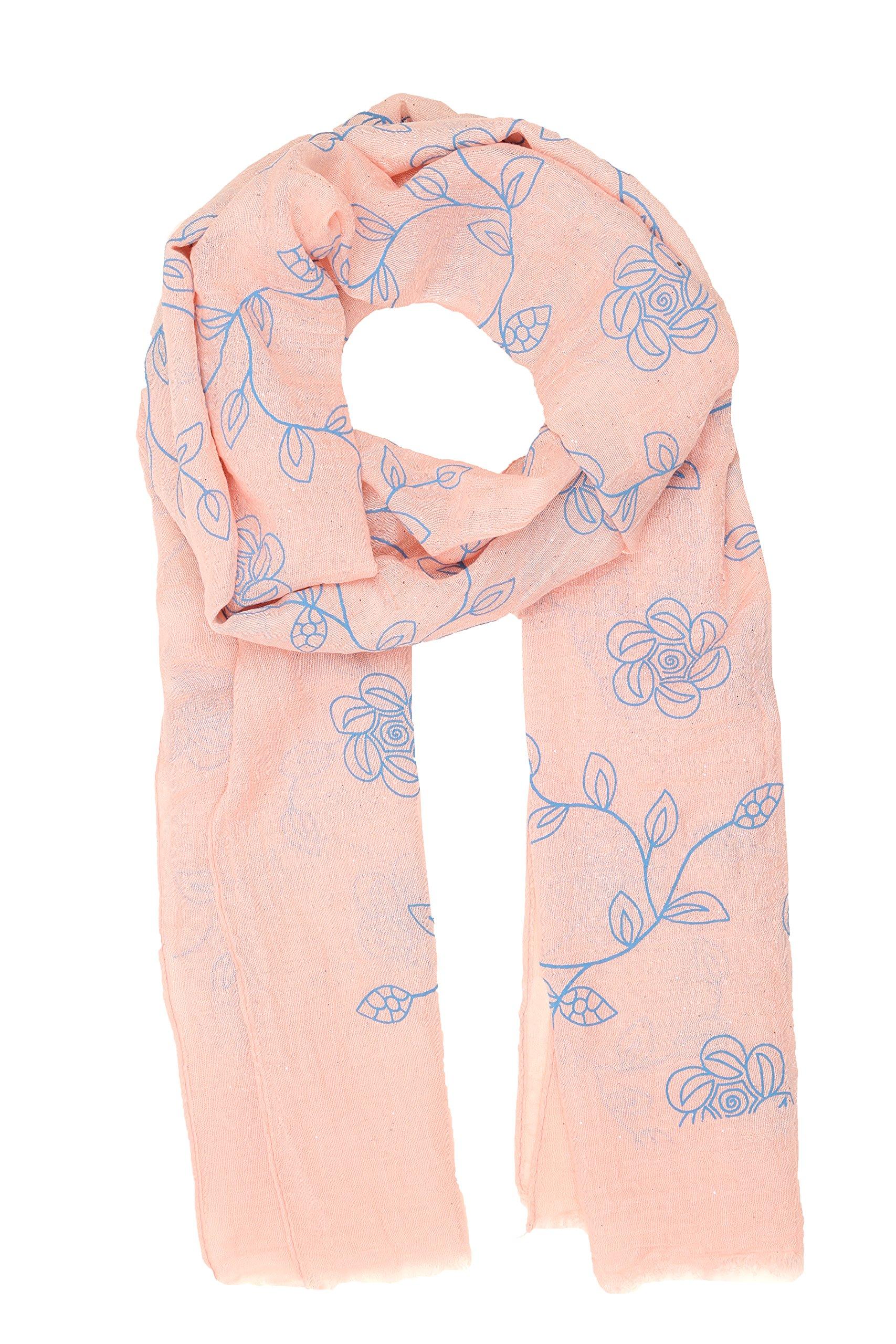Sakkas Hillary summer breeze lightweight flowing sheer gauze wrap scarf