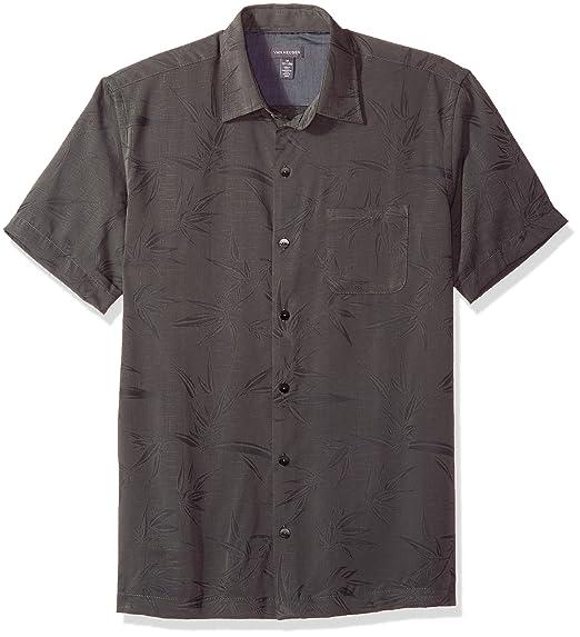 ee2cab2574f Van Heusen Men s Air Print Short Sleeve Shirt at Amazon Men s ...
