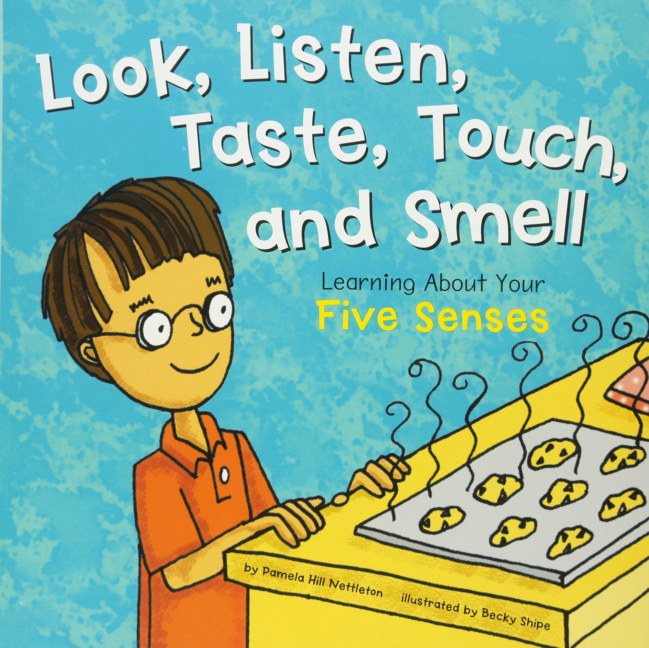 Look Listen Taste Touch and Smell: Learning about Your Five Senses (The Amazing Body)