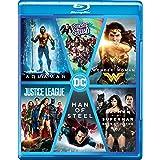DC 6-Movies Collection: Aquaman + Suicide Squad + Wonder Woman + Justice League + Man of Steel + Batman v Superman: Dawn of Justice (6-Disc Box Set)