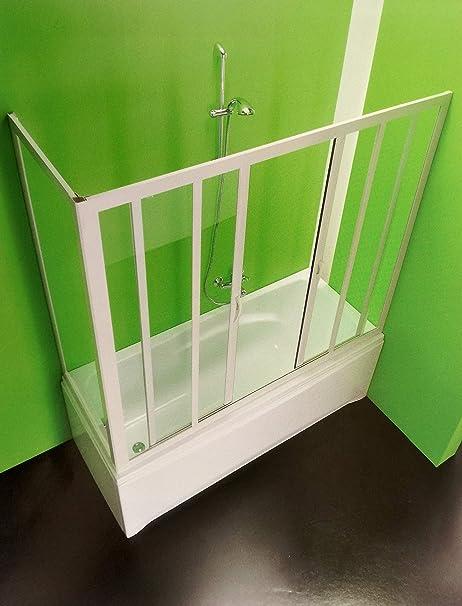 mampara Box bañera O 2 lados, CM.170 X 70 reducible, Apertura Central: Amazon.es: Bricolaje y herramientas