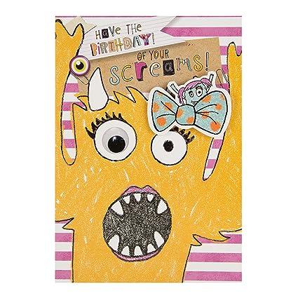 Amazon Shop Inc Hallmark Kids Monsters Googly Eye Bumper