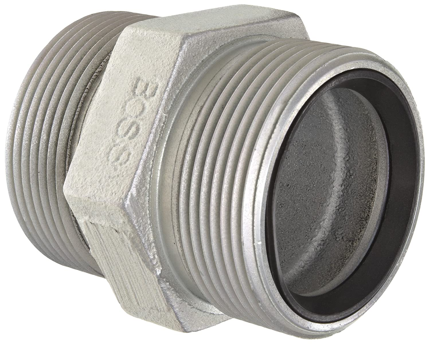 Dixon Valve /& Coupling Boss GB28 Plated Iron Hose Fitting Spud for GJ Boss Ground Joint Seal 2 NPT Female