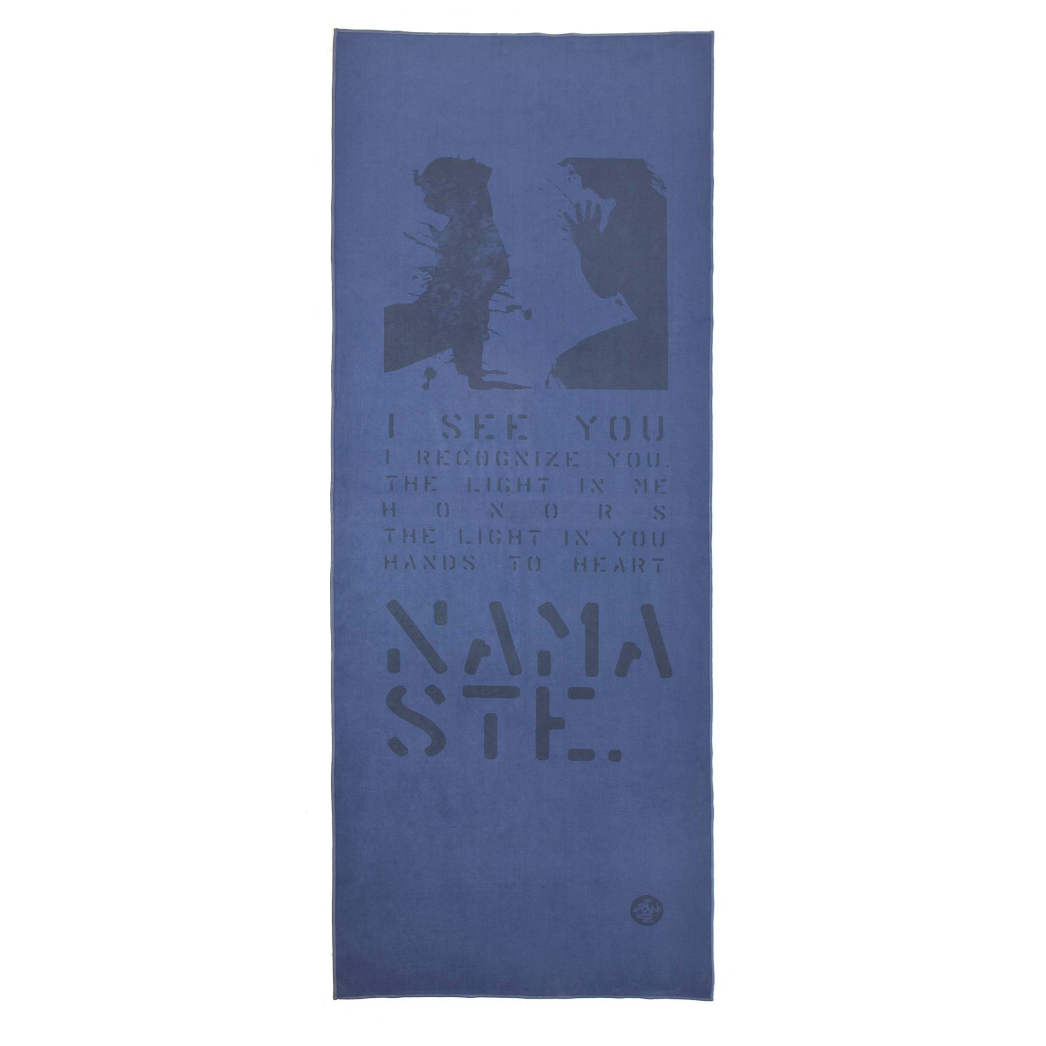 Amazon.com: TOALLA para YOGA de MANDUKA eQUA MAT coleccion LYRICS NAMASTE: Health & Personal Care
