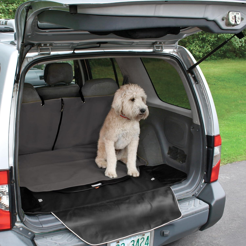 Adapt/é /à la plupart des v/éhicules Gris fonc/é Kurgo Housse de protection de coffre pour chien Cargo Cape Taille unique Imperm/éable et anti-d/échirure 01730