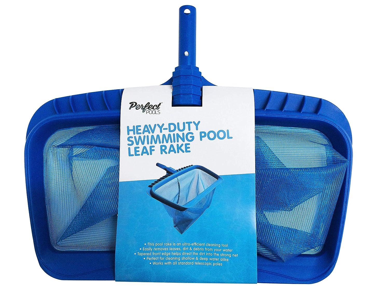 Perfect Pools Heavy-Duty Swimming Pool Leaf Rake Hot Tub /& Pool Rake Net