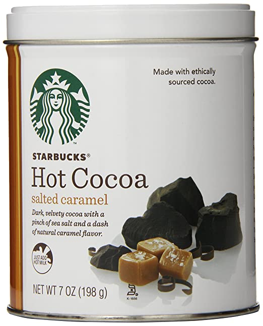 Starbucks Hot Cocoa, Salted Caramel, 7 Ounce