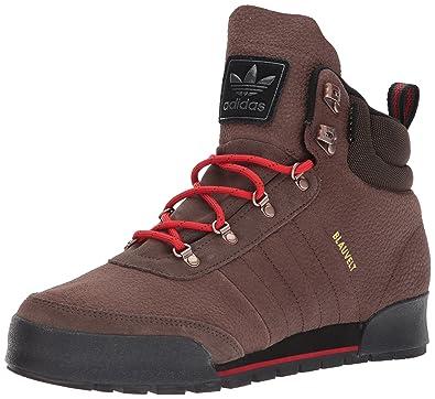 7beac4f761a4 adidas Originals Men s Jake 2.0 Hiking Boot, Brown Scarlet Black, ...