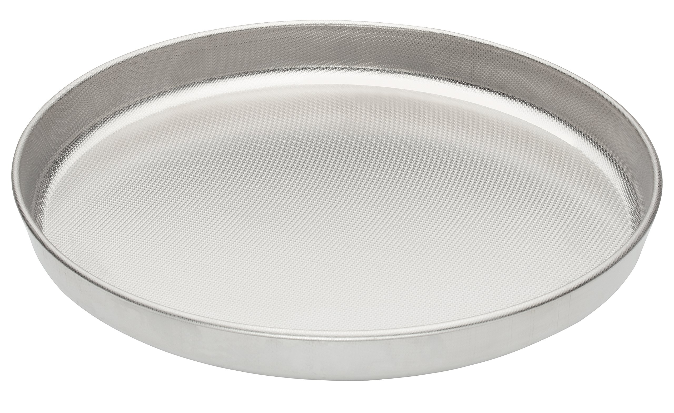 Fante's Micro-Textured Pizza Pan, 18/10 Stainless Steel, 13-Inch, The Italian Market Original since 1906