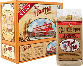 Bob's Red Mill Gluten Free 8 Grain Hot Cereal, 27 Ounce (Pack of 4)