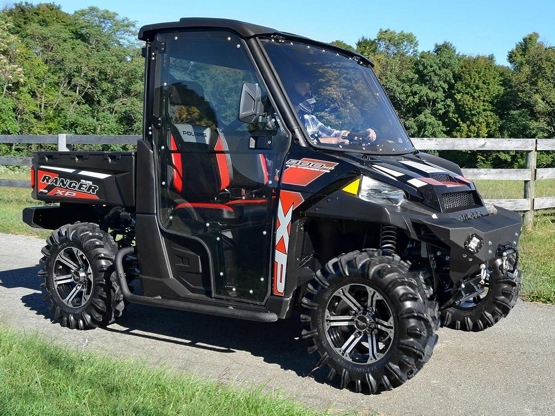 Polaris Side By Side >> Amazon Com Superatv Full Cab Doors For Polaris Ranger Xp Full Size