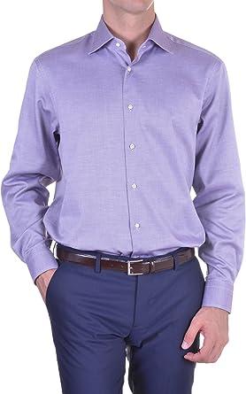Carrel - Camisa Hombre Classic lila 41: Amazon.es: Ropa y ...