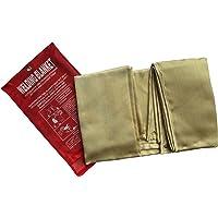 Tonyko Heavy Duty Fiberglas Schutzdecke, Emergency Survival Blanket, Schweißdecke und Feuerdecke mit verschiedenen Größen(1.2*1.8m)