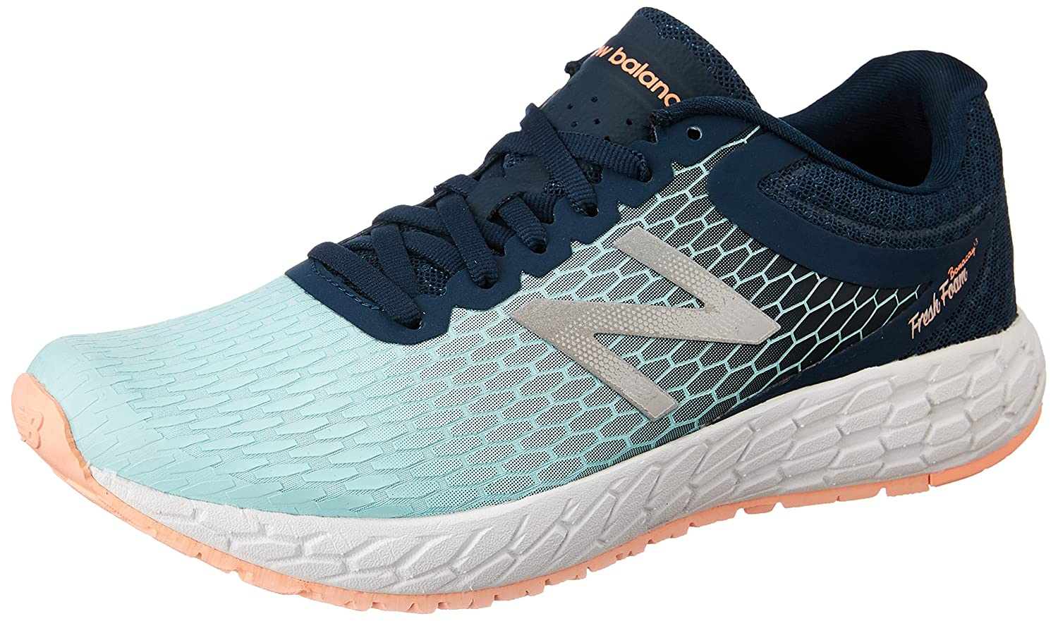 New Balance Women's Boracay V3 Running Shoe B01FSIZCOM 5 B(M) US|Supercell/Ozone Blue/Bleached Sunrise
