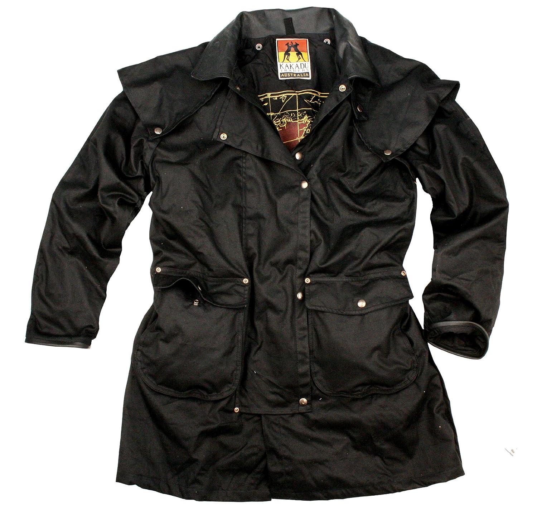 Kakadu Australia Iron Bark Drovers Wax Oilskin Jacket
