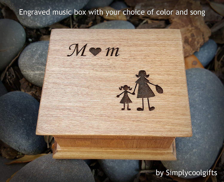 Music box, custom made music box, handmade music box, gift for mom, mother of bride gift, mother's day gift, simplycoolgifts mother' s day gift
