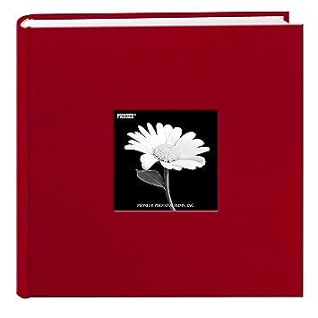 Amazoncom Fabric Frame Cover Photo Album 200 Pockets Hold 4x6