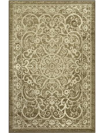 Abstract Flower White Background Pattern Non-slip Doormat Floor Entryways Indoor Front Door Mat Simple Bath Rugs By