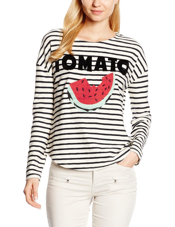 LEON & HARPER Damen Sweatshirt Tron Tomato