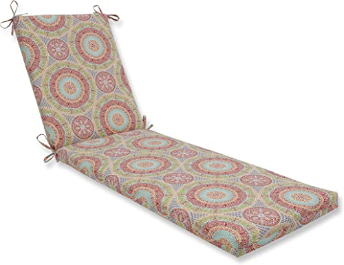 Pillow Perfect 611532 Outdoor/Indoor Delancey Jubilee Chaise Lounge Cushion
