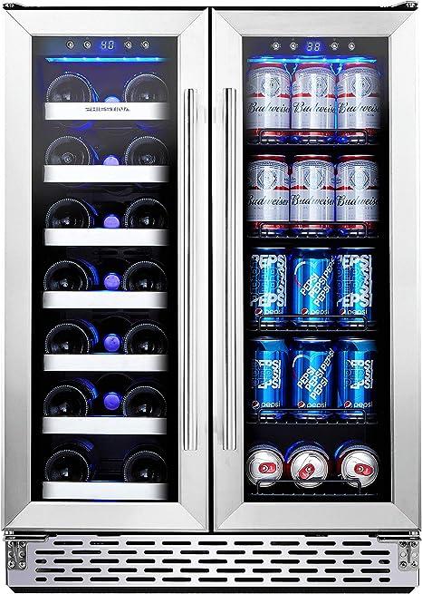 Phiestina Wine and Beverage Refrigerator