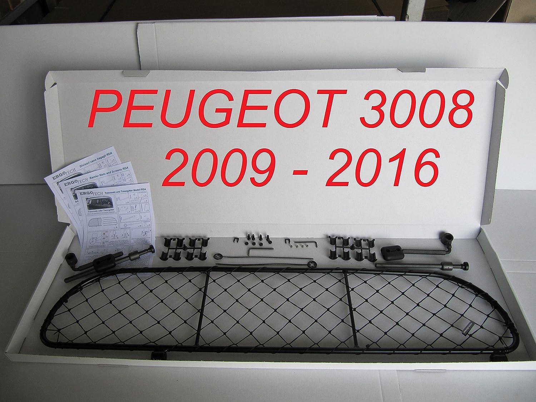 Filet Grille de séparation coffre Ergotech RDA65-S, pour chiens et bagage. Sûr, confortable pour votre chien, garantie! Ergotech Srl
