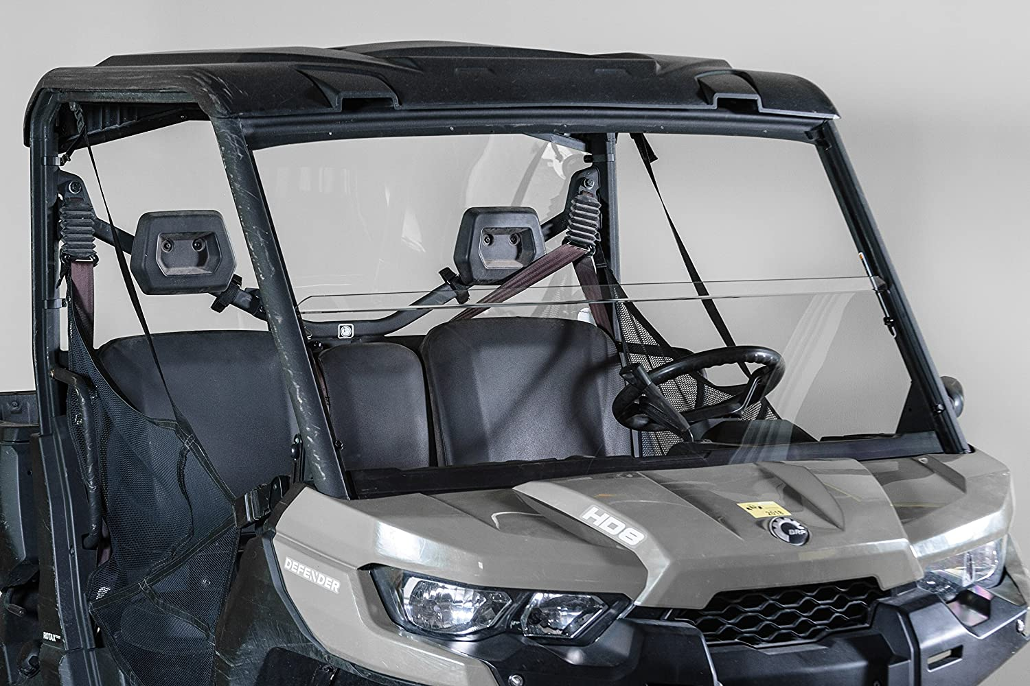 Made in the USA!. Can-Am Defender Half UTV Windshield