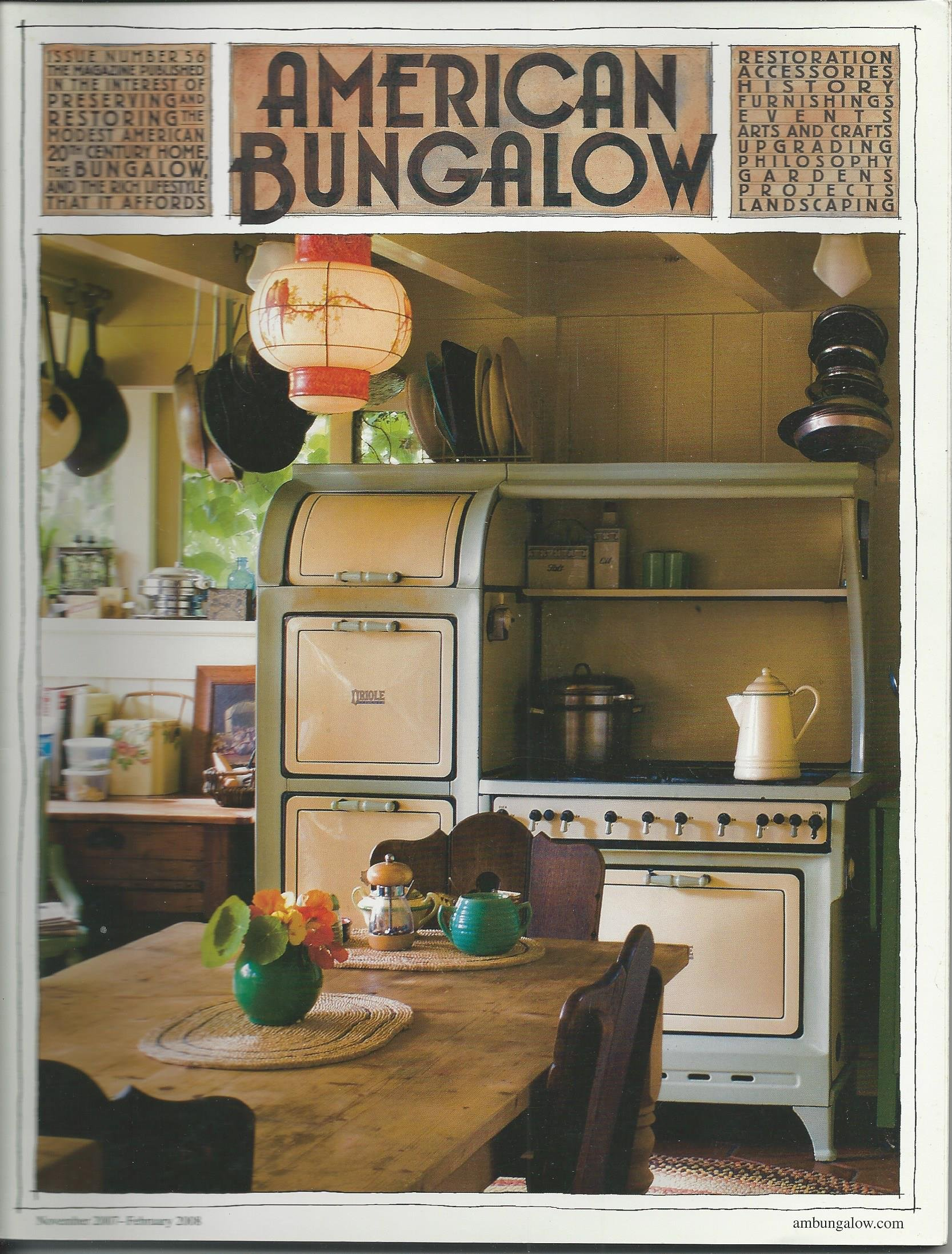 American Bungalow Magazine, Winter 2007 (Issue No. 56) PDF