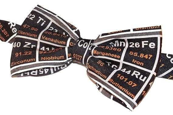 Periodic table on black bow tie amazon clothing periodic table on black bow tie urtaz Choice Image