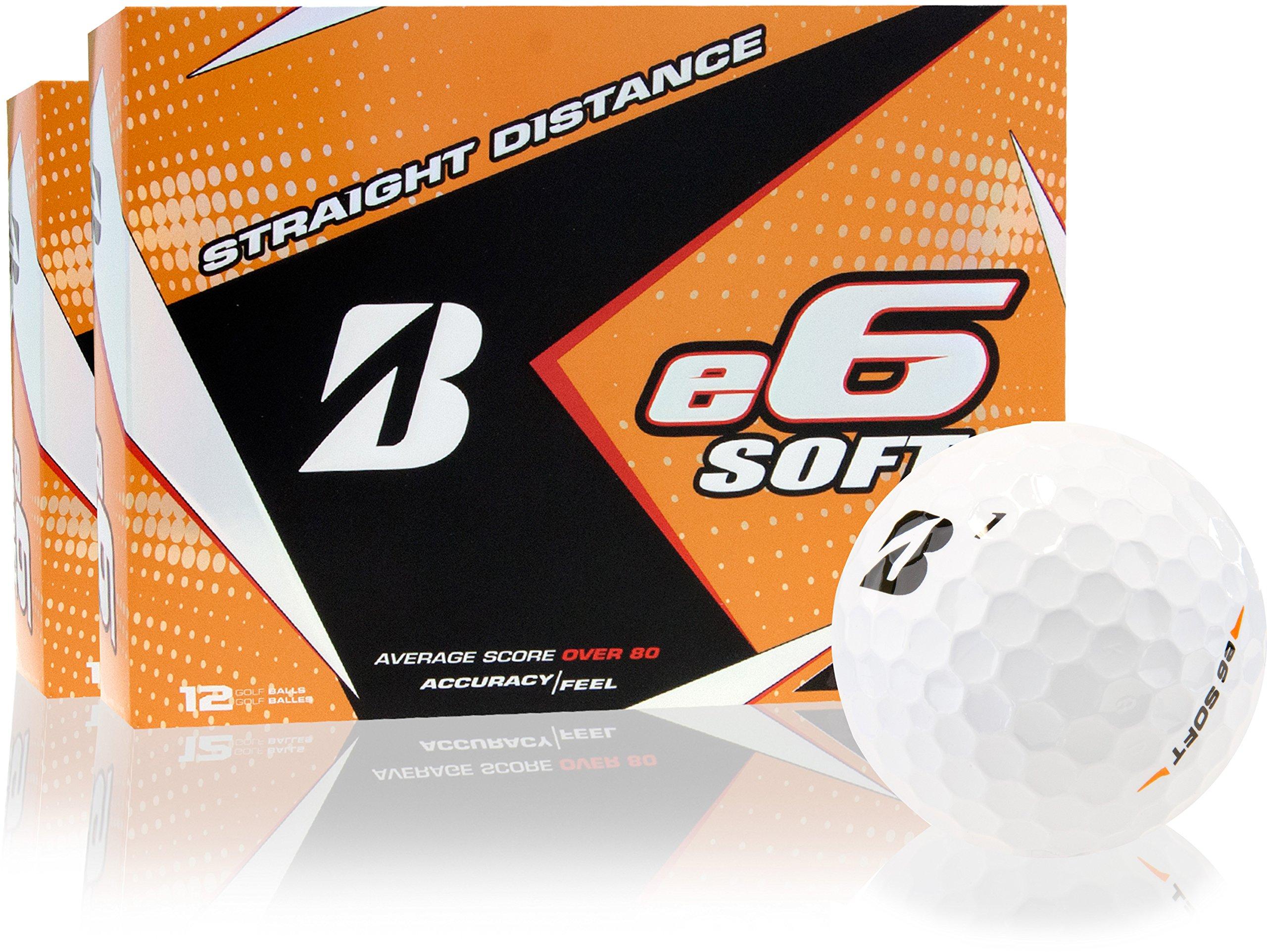 Bridgestone e6 Soft Golf Balls - Double Dozen by Bridgestone