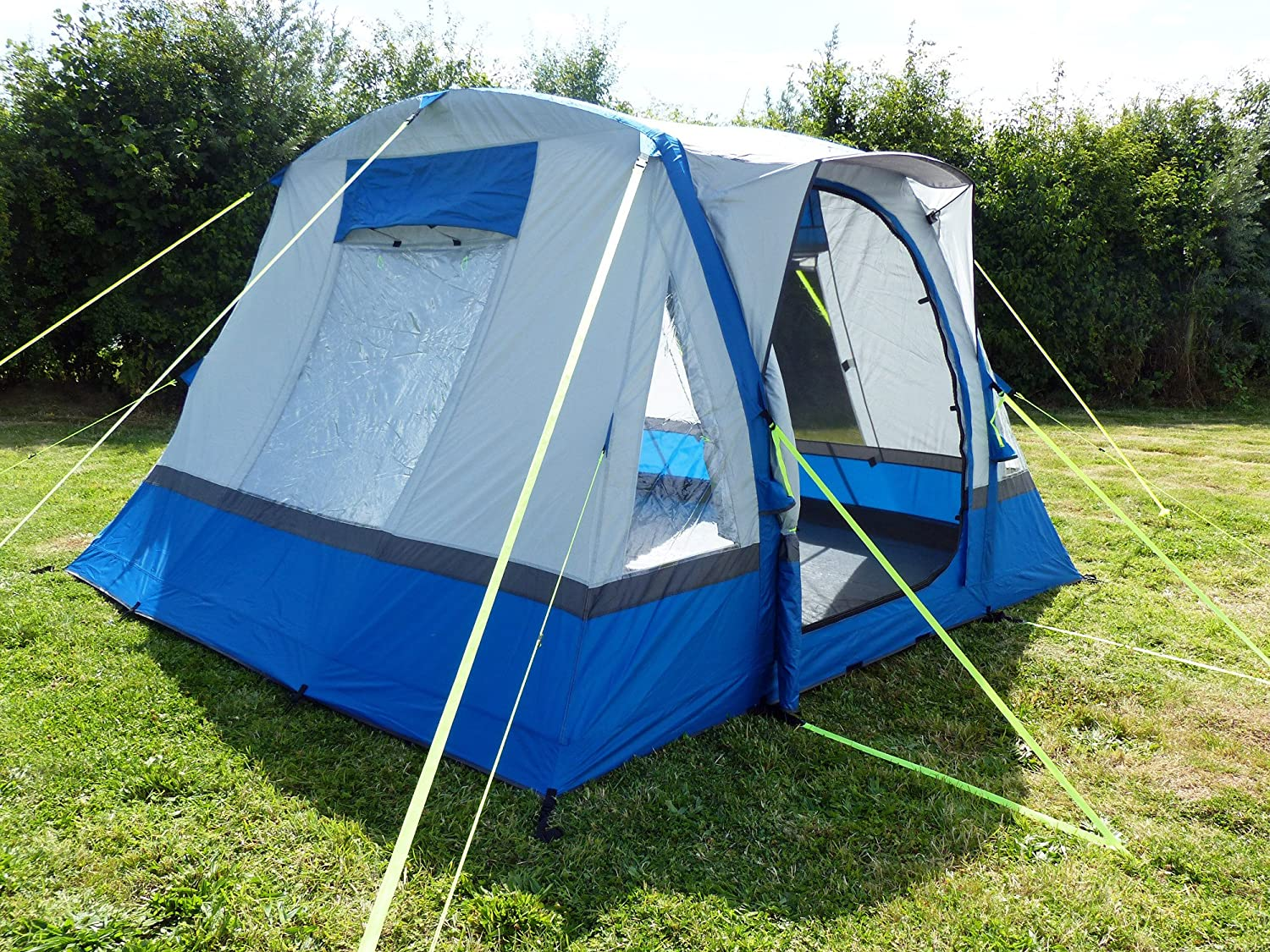 Olpro Waterproof Cubo Breeze  Outdoor Inflatable Campervan Awning available in Blue//Grey Size 240 cm