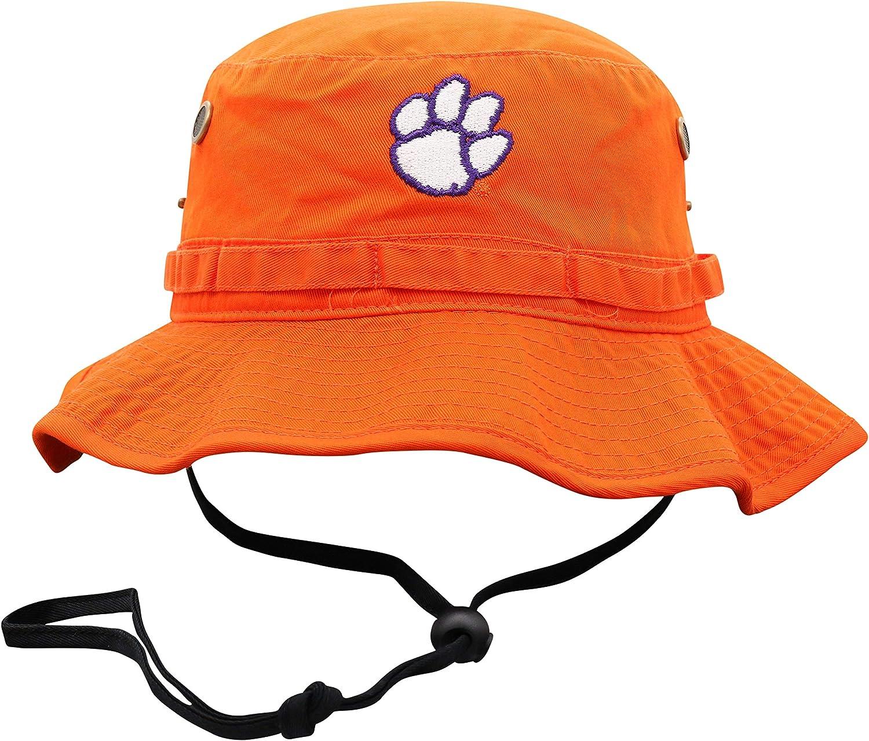 Top of the World NCAA Mens Bucket Hat Adjustable Team Icon