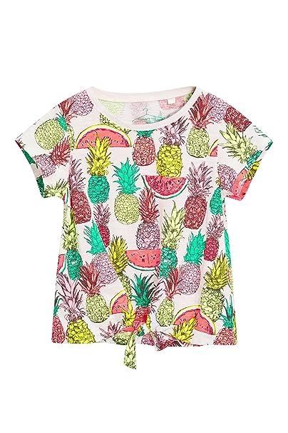 c49a3a33a next Niñas Camiseta Estampado Frutas Nudo Delantero (3-16 Años) Corte  Estándar 16