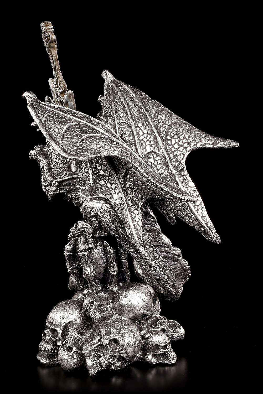 /Drago balor con teschi/ /Figura Decorativa Tagliacarte/
