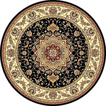 area rug sizes home depot mohawk rugs lowes cleaning diy collection traditional medallion black ivory round