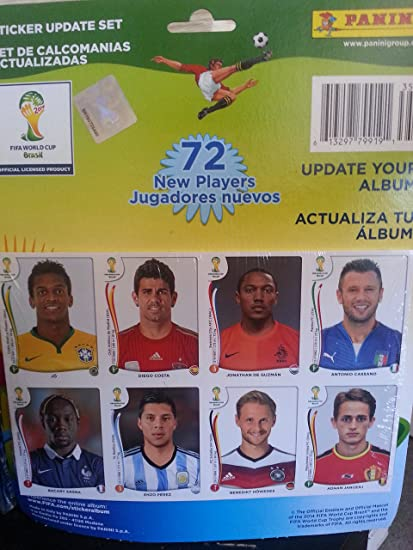 # COMPLETE YOUR ALBUM # Select 5 to 50 Panini World Cup 2014 Soccer Stickers