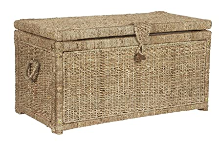 Large Seagrass Storage Chest   Natural.