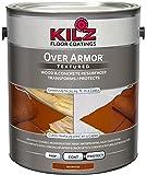 KILZ Over Armor Textured Wood/Concrete Coating, 1 gallon, Redwood