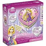 Orb Factory ORB11290 - Loisirs Créatifs - Boite à Bijoux Disney Princesses Raiponce - Sticky Mosaiques Autocollantes aux Numéros